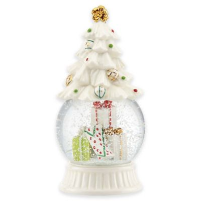 Lenox® Let it Snow Tree Snowglobe