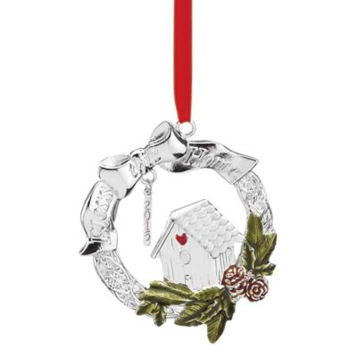"Lenox® 2015 ""Bless This Home"" Metal Ornament"
