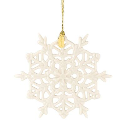 Lenox® 2015 Snow Fantasies Snowflake Ornament