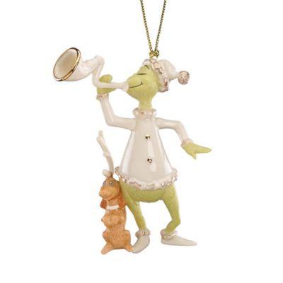 Lenox® Dr. Seuss™ Grinch Sounding the Horn Ornament