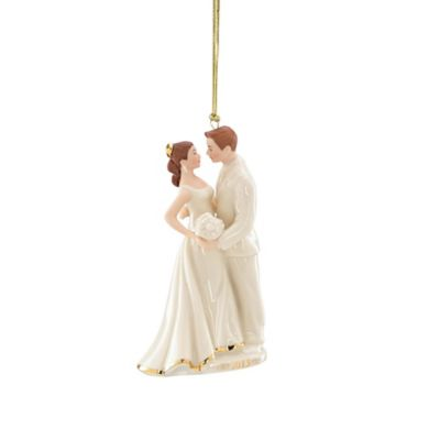 Lenox® 2015 Always and Forever Bride and Groom Ornament