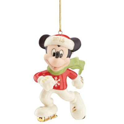 Lenox® 2015 Off to the Rink Mickey Ornament