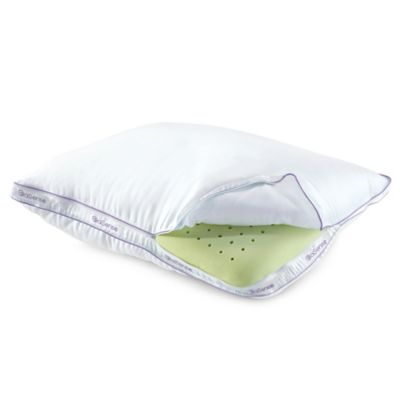 Brookstone® BioSense Memory Foam Classic Standard/Queen Pillow with Better Than Down® Cover