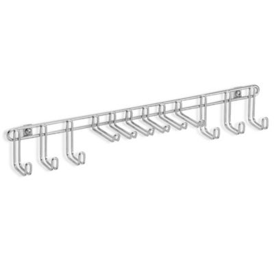 Chrome Tie / Belt Rack
