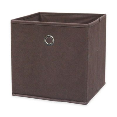 Home Basics® Storage Bin with Handle in Olive