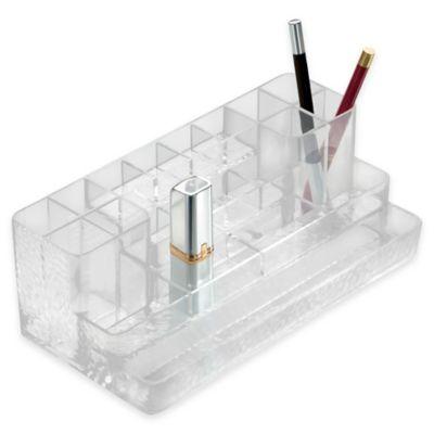 InterDesign® Rain Cosmetic Lipstick Organizer