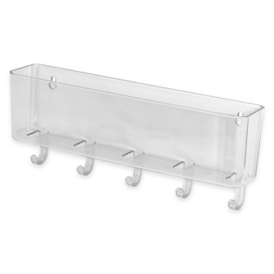 InterDesign® Linus Wall Mount Mail Center in Clear