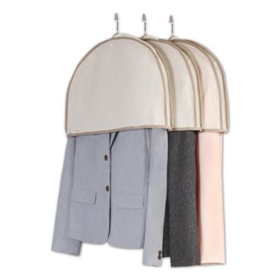 Real Simple® 3-Pack Shoulder Covers in Natural