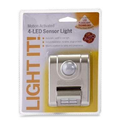 4-LED Motion Sensor Light