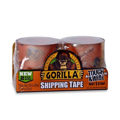 Gorilla™ Clear Shipping Tape