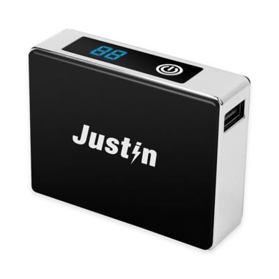 Justin 5,200 mAh LCD Power Bank Charger