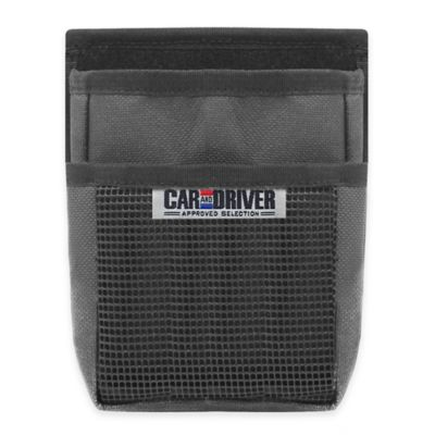 Car and Driver Storage Pocket in Black