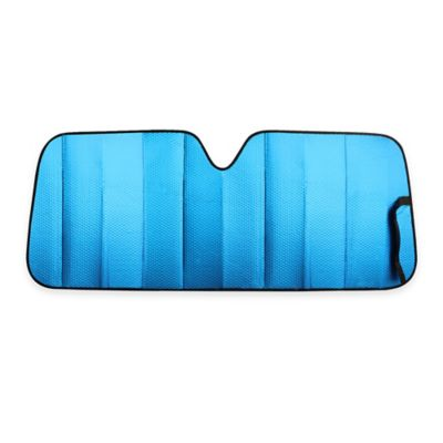 Car and Driver Matte Jumbo Sunshade in Blue