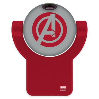Marvel® Avengers Projectables™ LED Projection Nightlight in Red