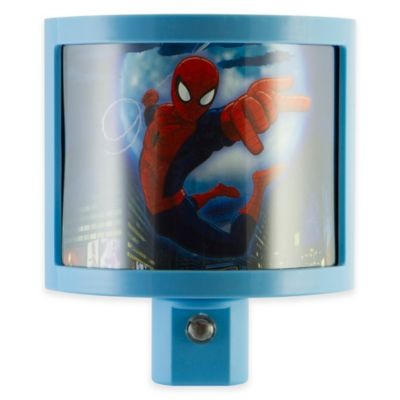 Marvel® Spider-Man LED Wrap Shade Nightlight in Blue