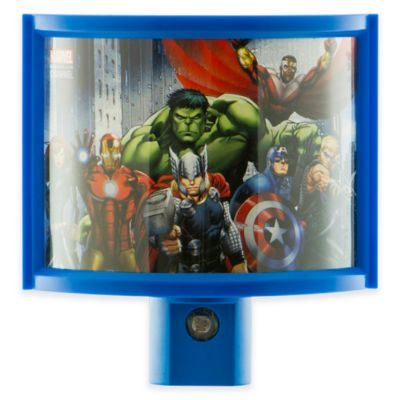 Marvel® Avengers LED Wrap Shade Nightlight in Blue
