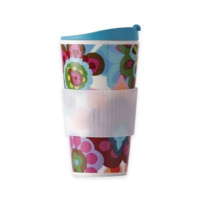 French Bull® Gala 16 oz. Travel Mug in Blue/Pink