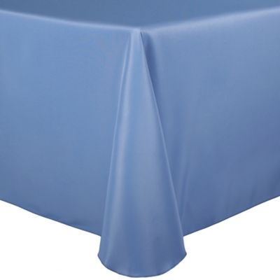 Basic Polyester 90-Inch x 132-Inch Oblong Tablecloth in Sea Mist