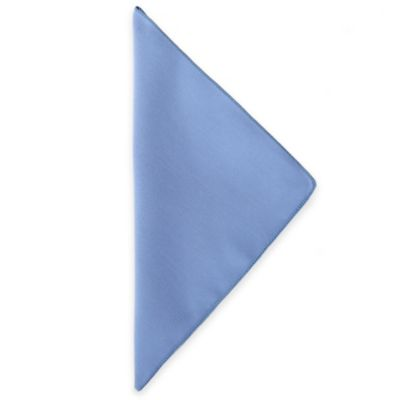 Basic Polyester Napkins in Ice Blue (Set of 4)