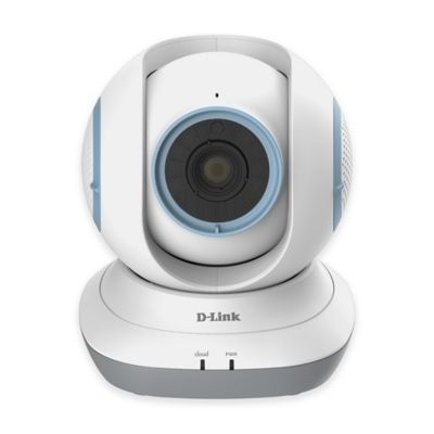 D-Link® DCS-855L HD Pan and Tilt Wi-Fi Baby Camera