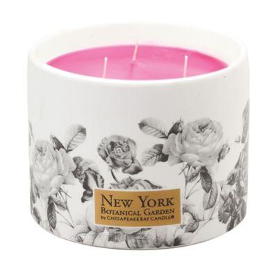 New York Botanical Garden Ceramic Candle