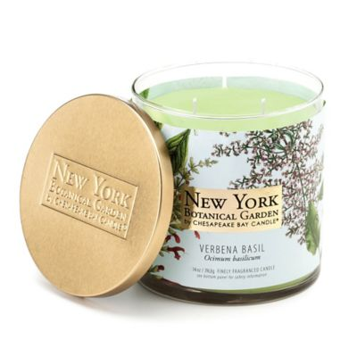 The New York Botanical Garden Verbena Basil 2-Wick Jar Candle