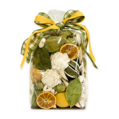 Sage Flowers Potpourri Bag