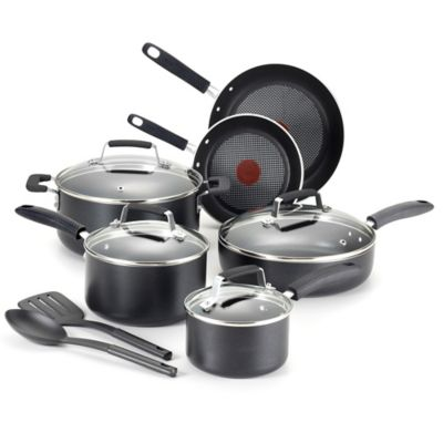 T-Fal® 12-Piece Performance Stainless Steel Copper Bottom Cookware Set