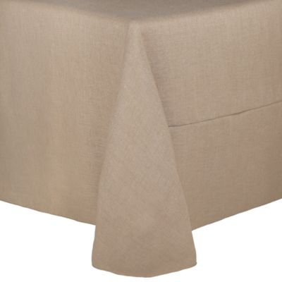 Havana 90-Inch x 132-Inch Tablecloth in White