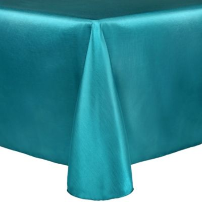 Majestic 90-Inch x 156-Inch Oblong Tablecloth in Turquoise