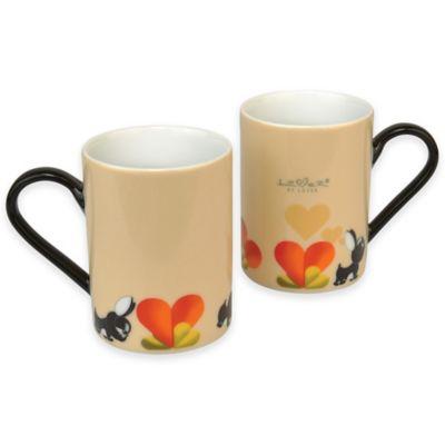BergHOFF® Lover by Lover Mug in Beige (Set of 2)