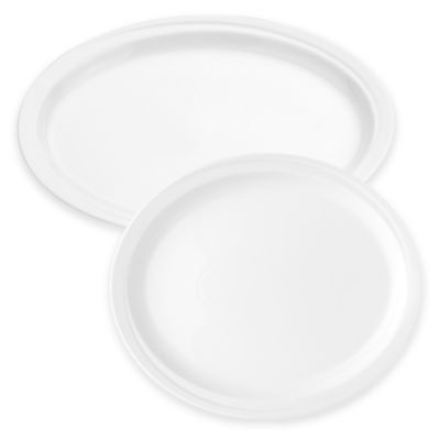 BergHOFF® Hotel 14-Inch Oval Platter in White
