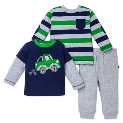 Green Shirt and Pant Set