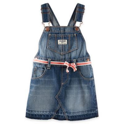 Size 2T Denim Skortall in Blue