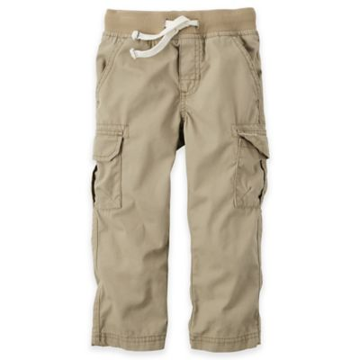 Carter's® Size 9M Straight Pant in Khaki