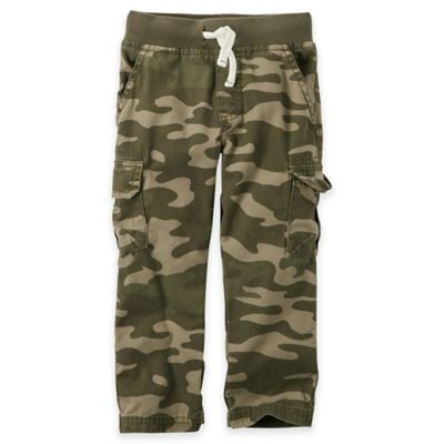 Carter's® Size 6M Straight Pant in Camo