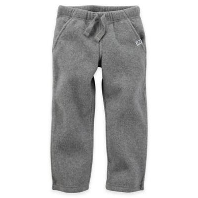 Carter's® Size 9M Fleece Sweat Pant in Grey