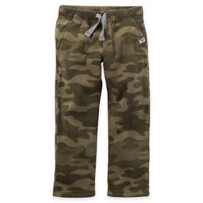 Carter's® Size 24M Fleece Sweat Pant in Camo