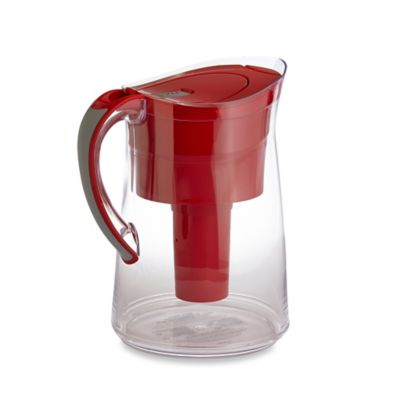 Brita® Capri 10-Cup Water Filter Pitcher in Red