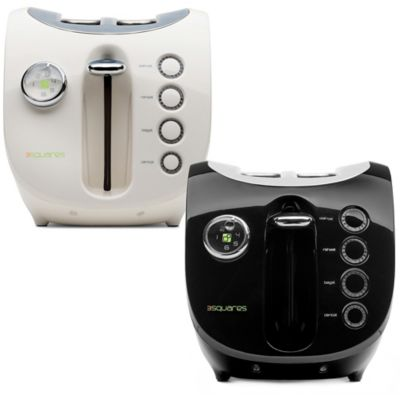 3 Squares COV3R 2-Slice Toaster in Black
