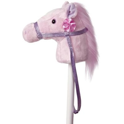 Fantasy Stick Horse in Pink