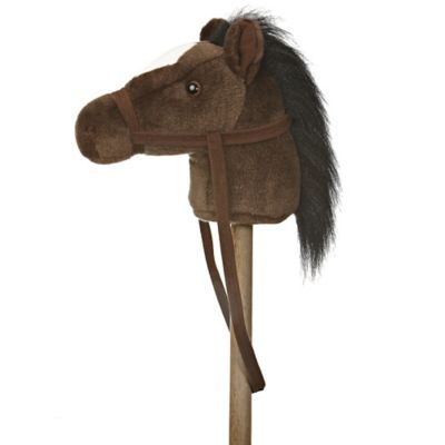 Giddy Up Stick Horse in Dark Brown