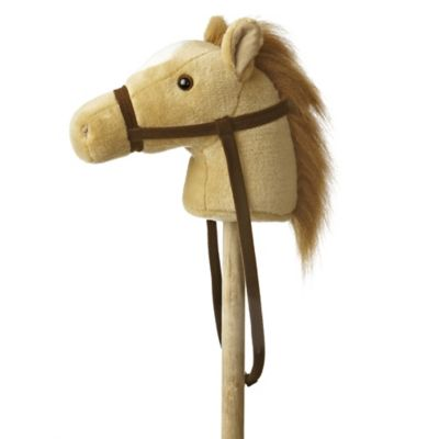 Giddy Up Stick Horse in Beige