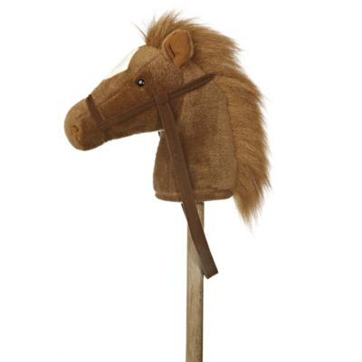 Giddy Up Stick Horse in Brown