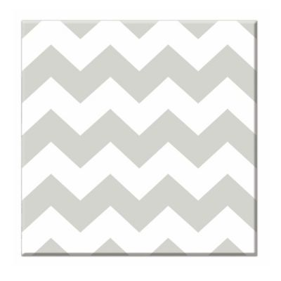 RoomMates Chevron Canvas Wall Art Set in Grey