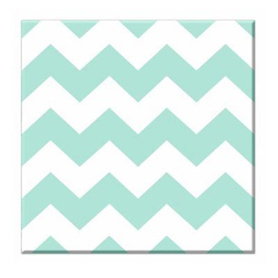 RoomMates Chevron Canvas Wall Art Set in Blue
