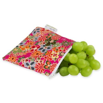 Itzy Ritzy® Snack Happens™ Reusable Snack & Everything Bag in Perky Perennials
