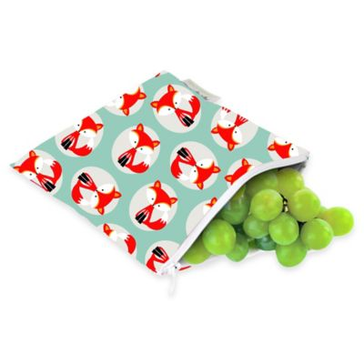 Itzy Ritzy® Snack Happens™ Reusable Snack & Everything Bag in Little Fox