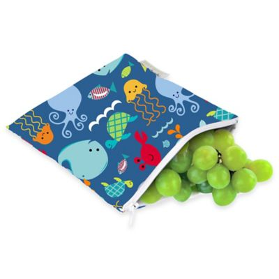 Itzy Ritzy® Snack Happens™ Reusable Snack & Everything Bag in Under the Sea