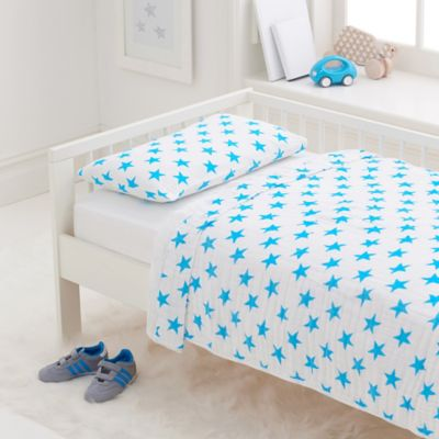 aden + anais® Fluro Toddler Bedding Set in Blue